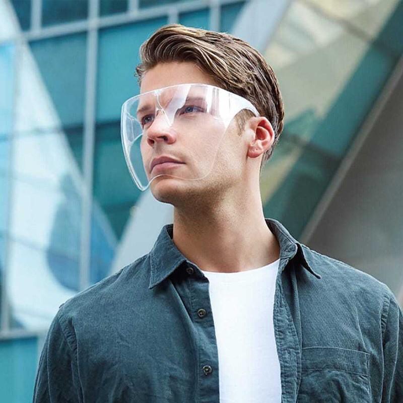 Mắt kính bảo hộ FACE SHIELD MASK chống giọt bắn, chống bụi che hết khuôn mặt bảo vệ mắt toàn...