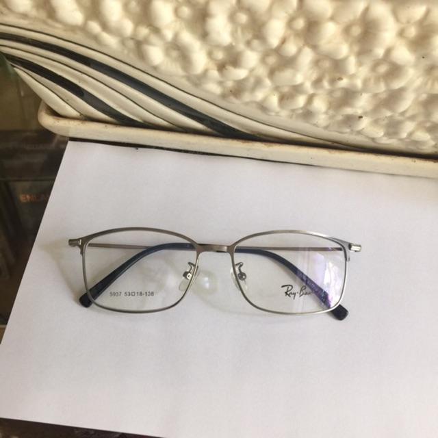 Kính kim loại siêu tăm mảnh - Mắt vuông bầu
