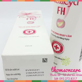 Dung dịch vệ sinh phụ nữ Lactacyd FH 4