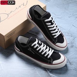 Giày Sneaker Dincox Unisex D21 Black Phong Cách Ấn Tượng