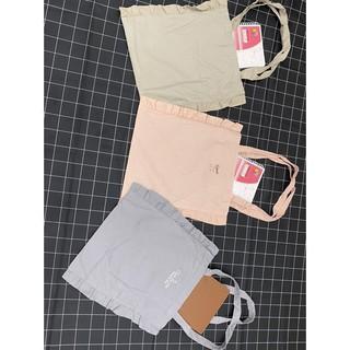 Túi vải Tote đeo vai - Túi Vải Đựng Đồ Đa Năng xuất Hàn