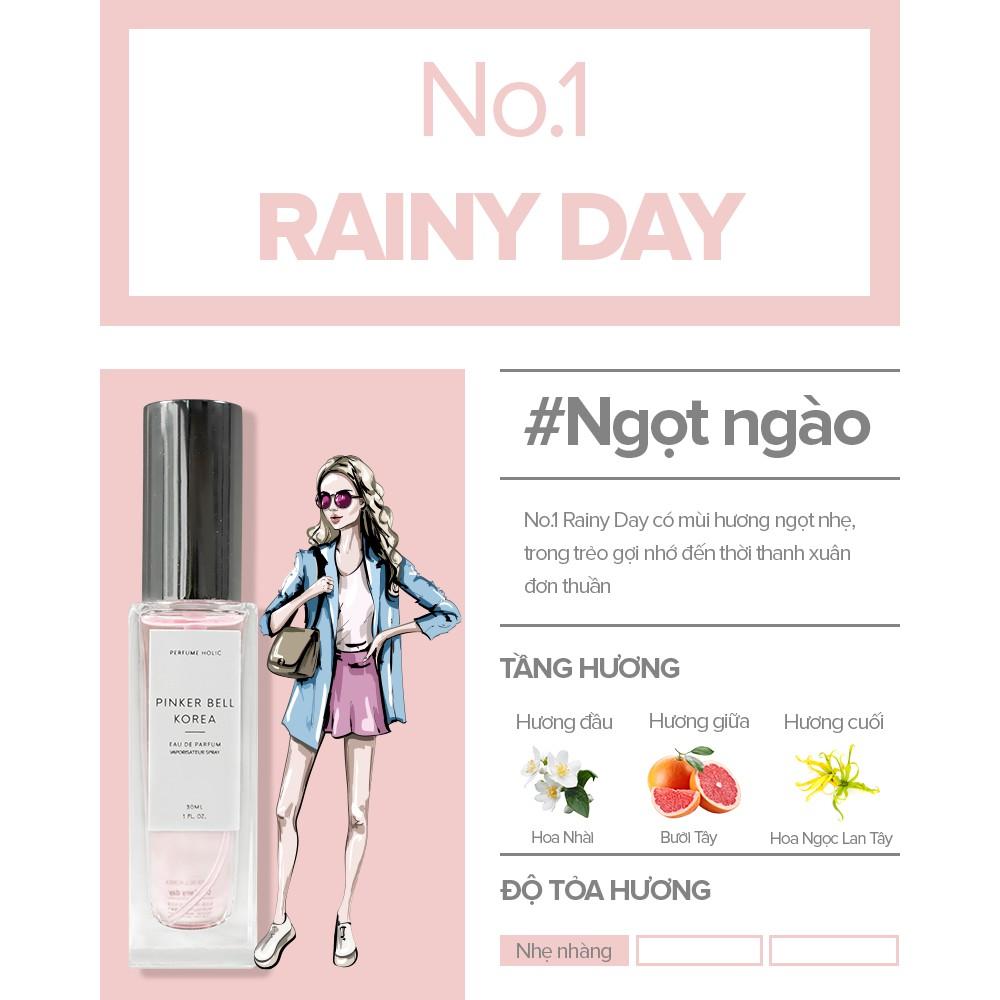 [Mã COSHOT24 hoàn 8% xu đơn 250K] NƯỚC HOA PINKER BELL KOREA Eau De Perfume 30ml - Nước hoa bán chạy nhất Hàn Quốc