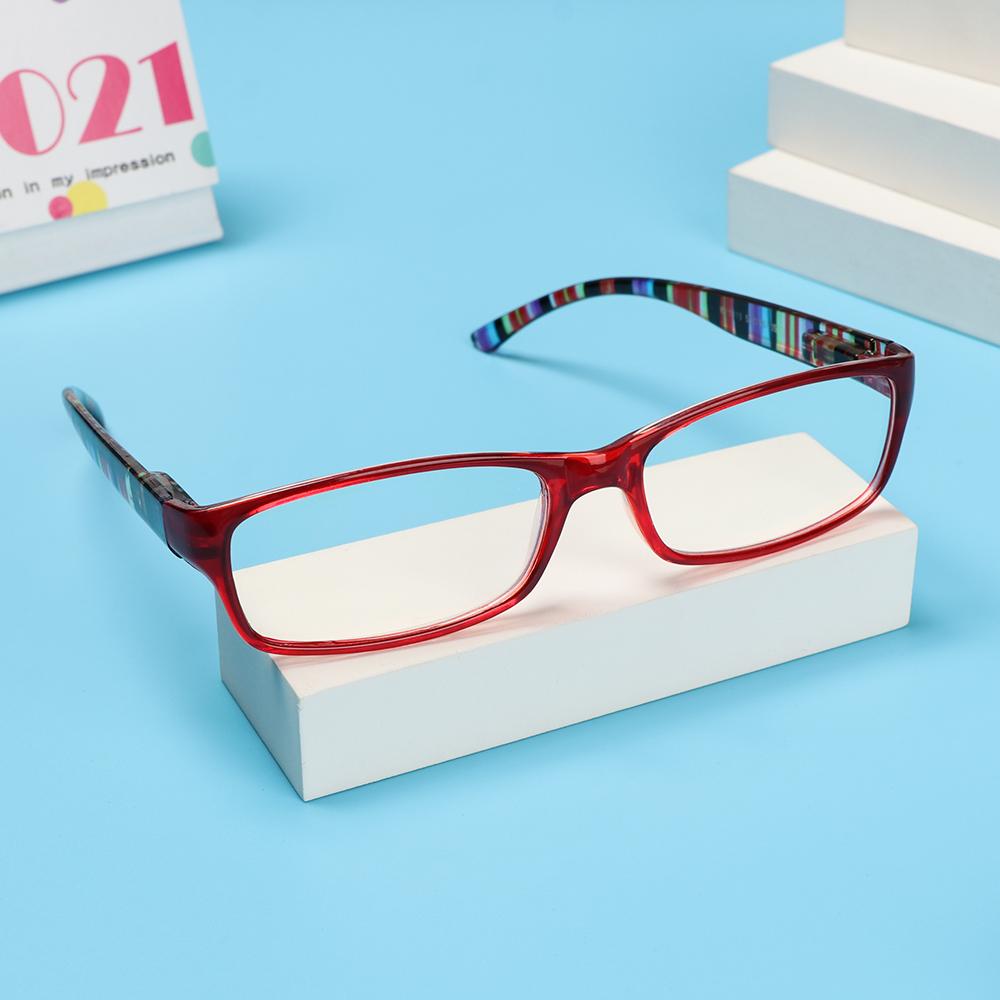 🌵CACTU🌵 Women Men Anti-Blue Light Eyeglasses Elegant Eye Protection Reading Glasses Portable Fashion Comfortable Vintage Ultra Light Frame/Multicolor