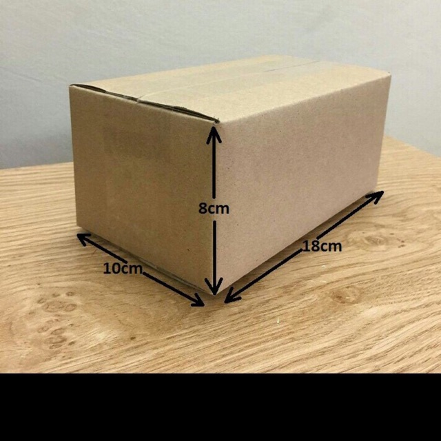 18x10x8 Combo 100 hộp catton , thùng catton