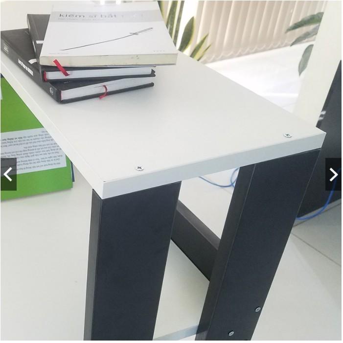 (Công ty SZ) Bàn làm việc kèm kệ sách - Bàn học kèm kệ sách thông minh dạng lắp ghép...