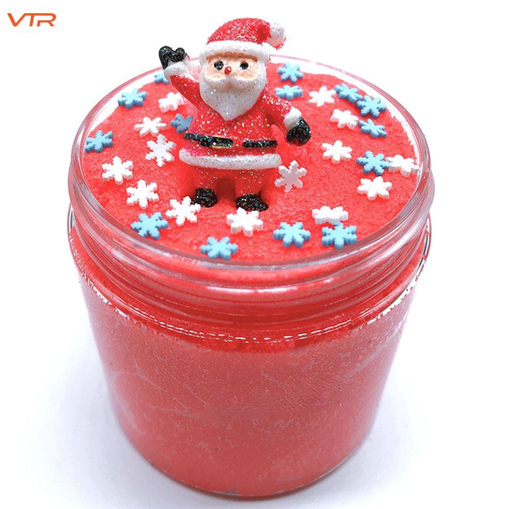 Slime Dẻo Ma Thuật Chủ Đề Giáng Sinh Vui Nhộn Cho Bé