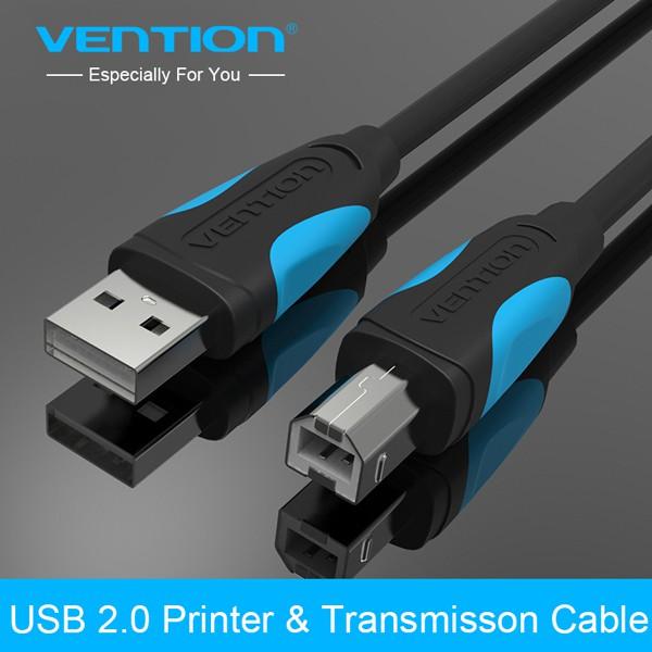 Cáp máy in Vention USB 2.0 VAS-A16-B300 dài 3m