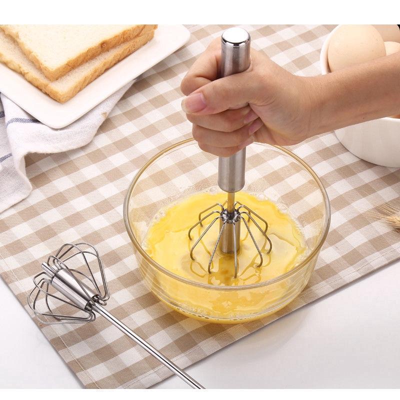 Dụng cụ đánh trứng bằng thép không gỉ tiện lợi chất lượng cao