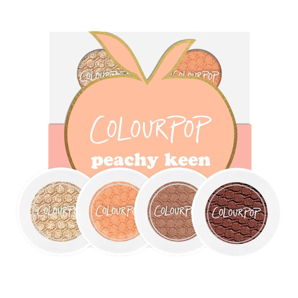 Set màu mắt Colourpop Peachy Keen