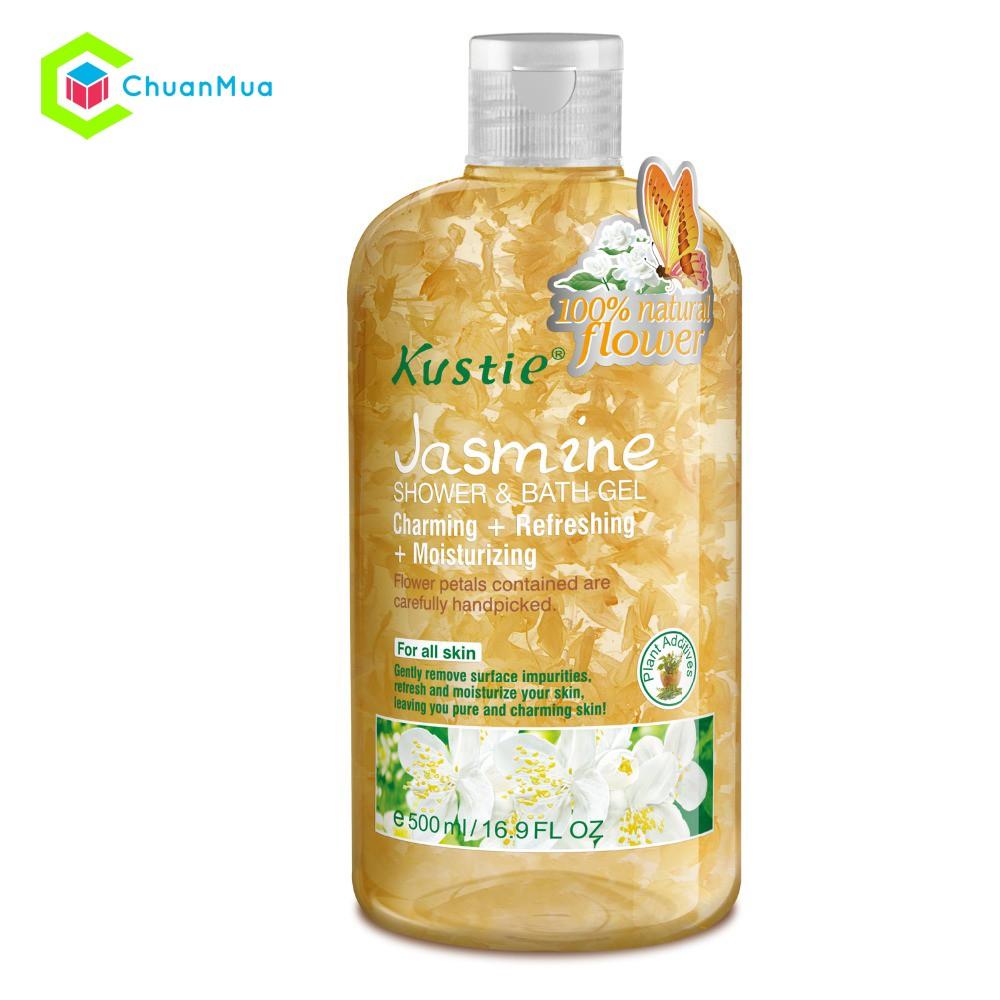 Sữa tắm Kustie Shower and Bath Gel 500ml Jasmine - MPA063 - 2557239 , 278798969 , 322_278798969 , 299000 , Sua-tam-Kustie-Shower-and-Bath-Gel-500ml-Jasmine-MPA063-322_278798969 , shopee.vn , Sữa tắm Kustie Shower and Bath Gel 500ml Jasmine - MPA063