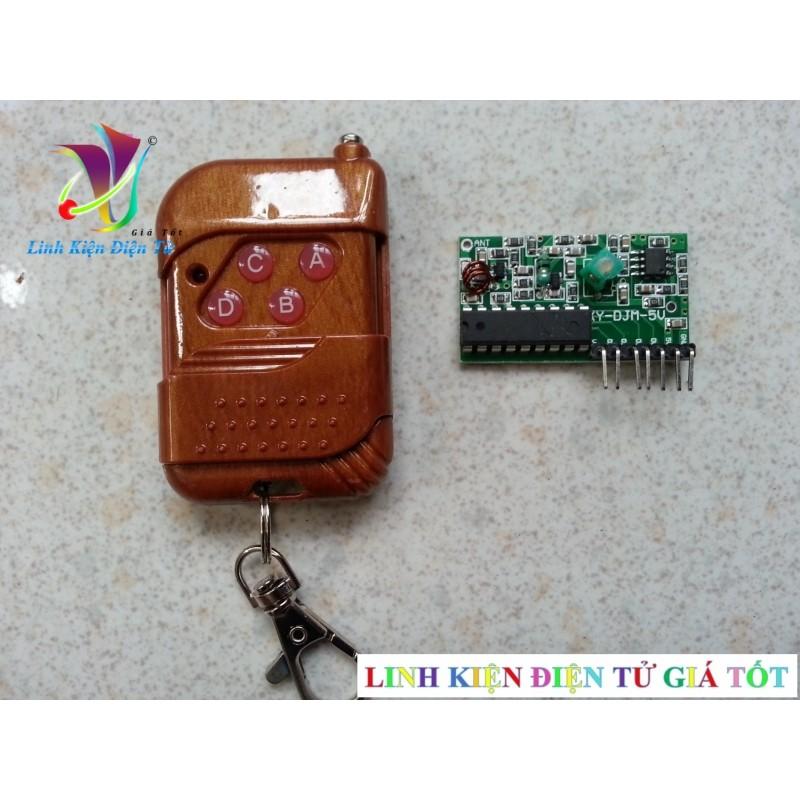 Bộ modul thu và phát RF M4 - điều khiển từ xa - 2565129 , 70102021 , 322_70102021 , 65000 , Bo-modul-thu-va-phat-RF-M4-dieu-khien-tu-xa-322_70102021 , shopee.vn , Bộ modul thu và phát RF M4 - điều khiển từ xa