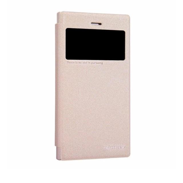 Bao da Blackberry Z3 hiệu Nillkin Sparkle