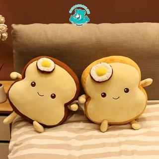Gối Ôm Bánh Mì Nơ Trứng Nhồi Bông Dễ Thương Cao Cấp Gấu Bông Online thumbnail