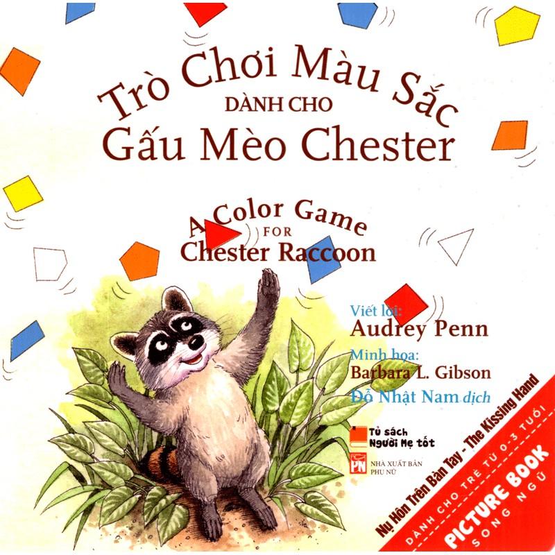 Sách - Trò Chơi Màu Sắc dành cho Gấu Mèo Chester