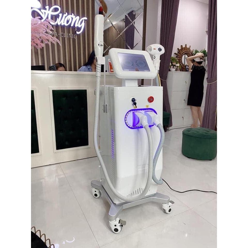 [Siêu Giảm Giá] Máy Triệt Lông Diode Laser 808 2in1 Xóa Xăm 2021
