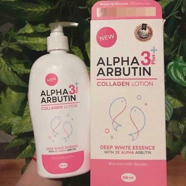 DƯỠNG THỂ ALPHA ARBUTIN 3+