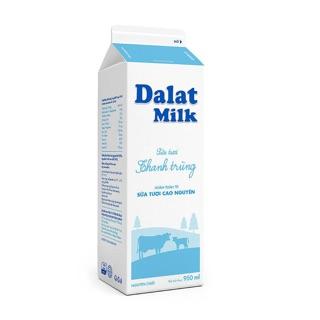 Combo 10 hộp Sữa tươi thanh trùng Dalatmilk