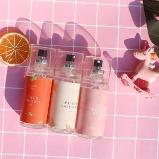 Nước Hoa Nữ, Xịt Thơm Body Mist, Xịt Thơm Khử Mùi Quần Áo Peach OOlong 80ml Siu Hot thumbnail
