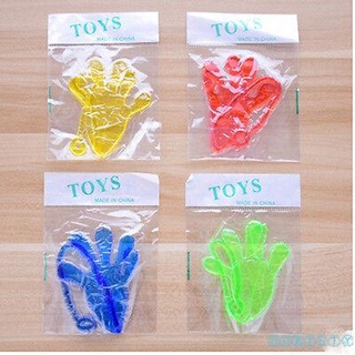 CHT-New Novelty Elastic Sticky Squishy Slap Hands Palm Toy Present Children Favors Gift