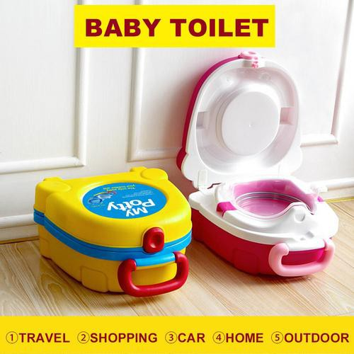 Baby Toilet Urinal Car Portable Urinal Training Toilet Potty Training Seat