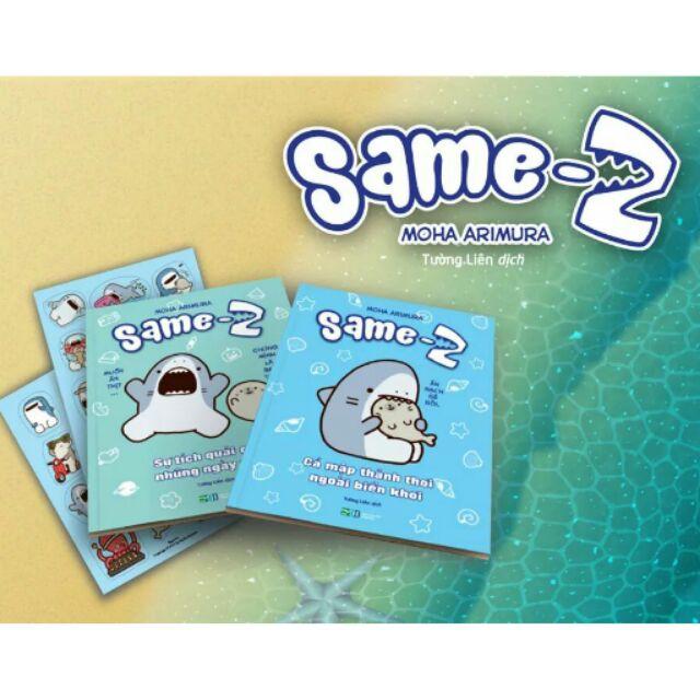 Sách - Combo Same - Z 2 phần - 3227070 , 434644006 , 322_434644006 , 100000 , Sach-Combo-Same-Z-2-phan-322_434644006 , shopee.vn , Sách - Combo Same - Z 2 phần