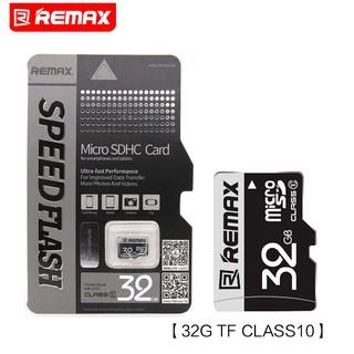 Thẻ nhớ microSD REMAX 32GB (Đen) tốc độ class 10 chuyên dụng cho camera