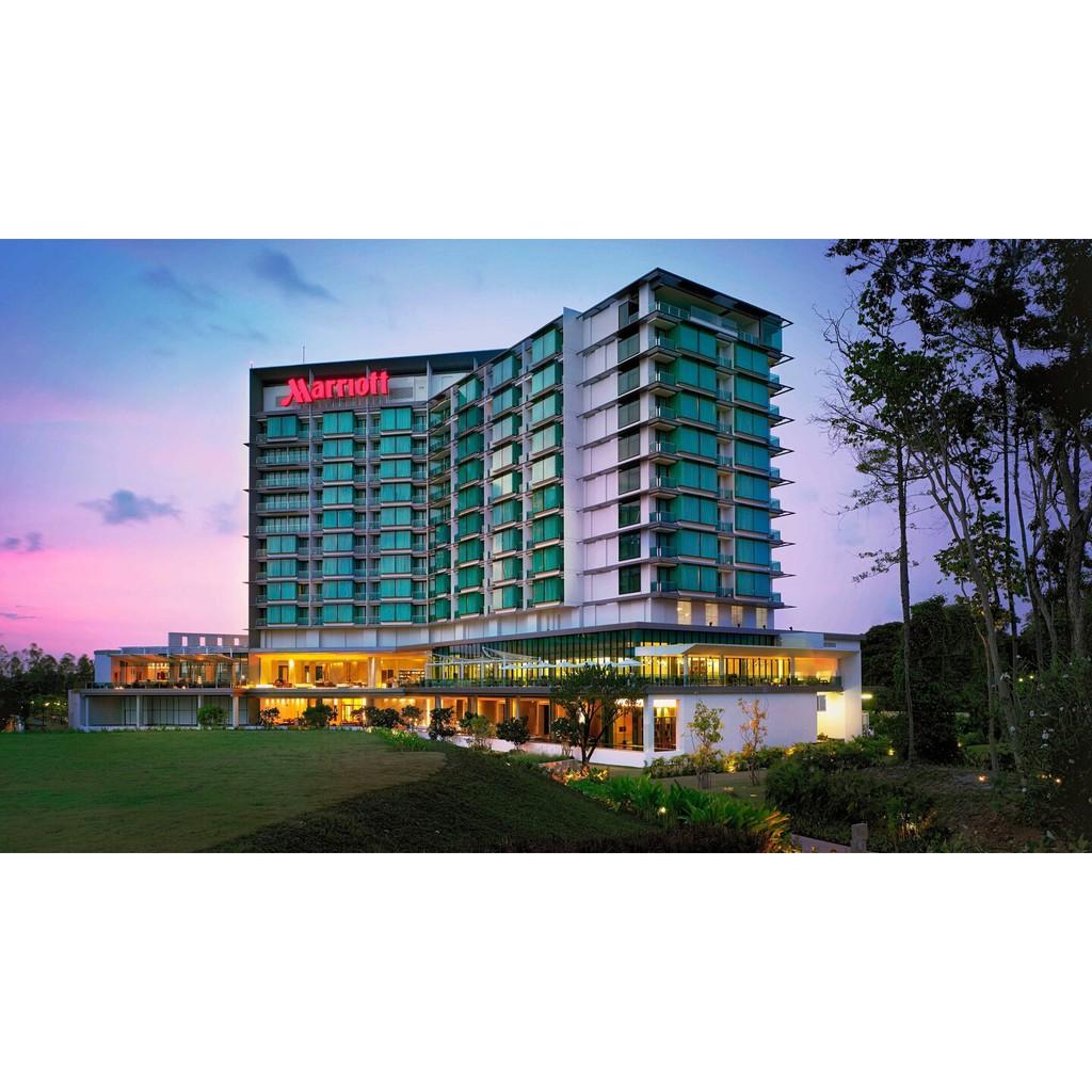 Voucher : Marriott Rayong ห้อง deluxe mountain view พร้อมอาหารเช้าสำหรับ 2 ท่าน