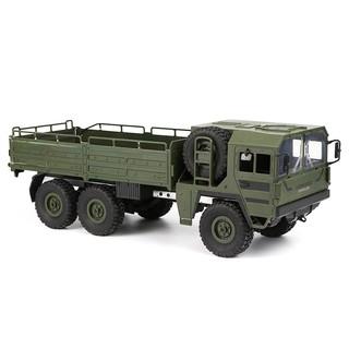 Ô tô tải Quân sự JJRC Q64 6×6 1:16 (Màu xanh bộ đội)