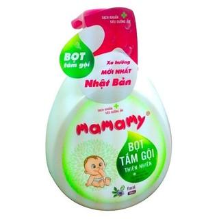 Bọt tắm gội thiên nhiên Mamamy 400ml hương hoa M139