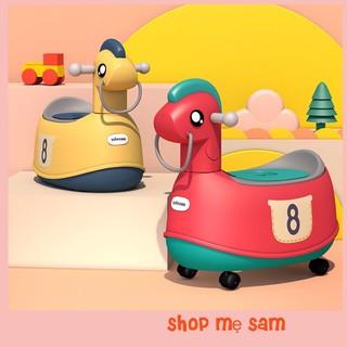 [FREESHIP EXTRA] Bô đi vệ sinh thông minh 2 trong 1 cho bé, vừa làm xe đồ chơi, vừa làm bô đi ngoài cho bé!