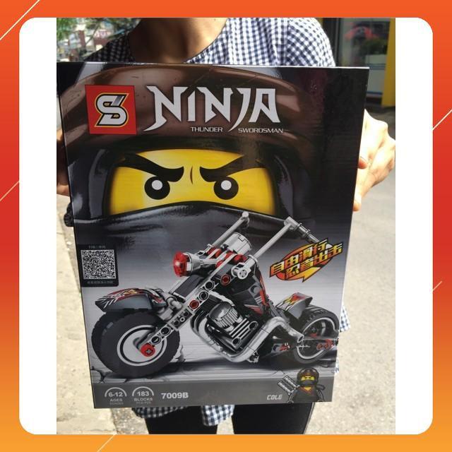 [Siêu Sock] Lego Ninja xe máy ( 3 màu)