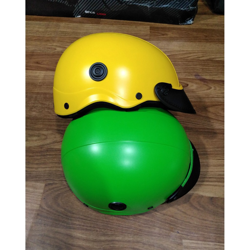 Mũ Bảo Hiểm Nửa Đầu Chính Hãng 100℅ Bảo Hành 12 Tháng[ BAO TEST ]- Nón bảo hiểm