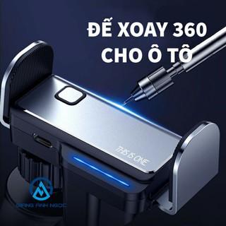 Wow📢 Giá đở điện thoại cho ô tô xoay 360 THISISONE sản phẩm chất lượng