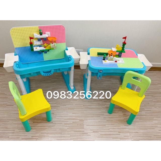 Bàn ghế Lego Umoo (hàng có sẵn, 2 màu)