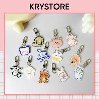 Móc chìa khóa ,móc treo túi balo nhiều hình dễ thương MT06 thumbnail
