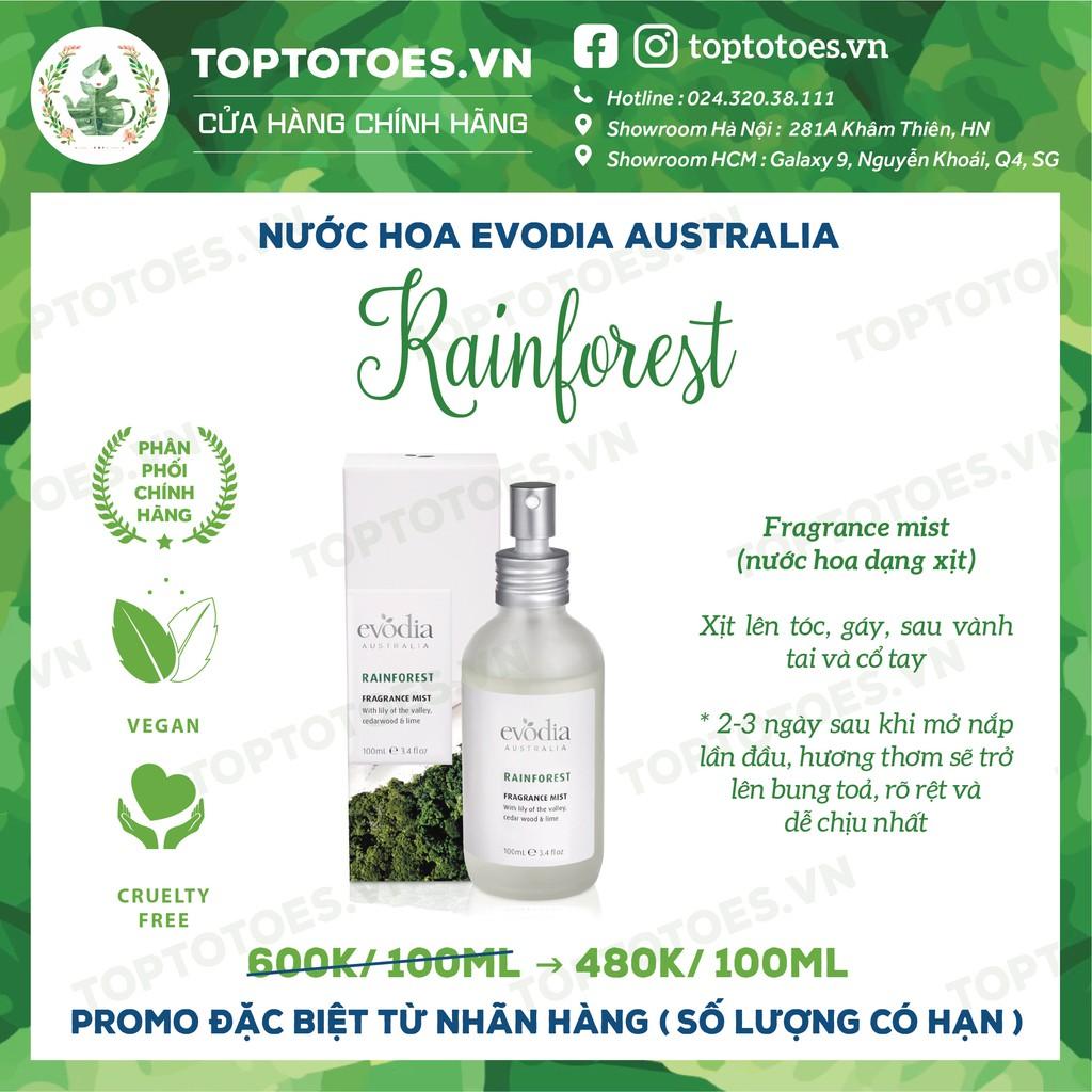 Nước hoa Evodia Australia RAINFOREST
