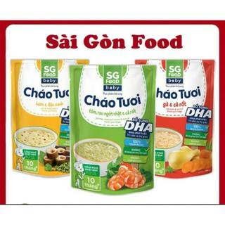 Date mới-20 vị khác nhau cháo tươi SG food thumbnail