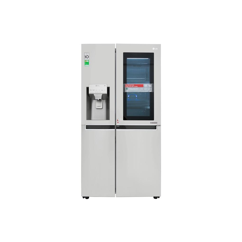 Tủ lạnh LG Inverter InstaView Door-in-Door 601 lít GR-X247JS - 13864500 , 2197270146 , 322_2197270146 , 37990000 , Tu-lanh-LG-Inverter-InstaView-Door-in-Door-601-lit-GR-X247JS-322_2197270146 , shopee.vn , Tủ lạnh LG Inverter InstaView Door-in-Door 601 lít GR-X247JS