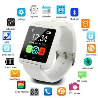 Đồng Hồ Đeo Tay Thông Minh Bluetooth U8 Theo Dõi Sức Khỏe Kèm Phụ Kiện Chất Lượng Cao