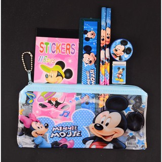 New Mickey Mouse Kids Pencil Case Stationery Cute School