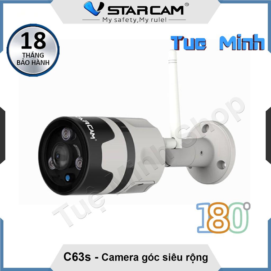 Camera không dây ngoài trời Vstarcam C63s 1080p - Góc nhìn siêu rộng 180 độ - 3055326 , 845826141 , 322_845826141 , 1190000 , Camera-khong-day-ngoai-troi-Vstarcam-C63s-1080p-Goc-nhin-sieu-rong-180-do-322_845826141 , shopee.vn , Camera không dây ngoài trời Vstarcam C63s 1080p - Góc nhìn siêu rộng 180 độ
