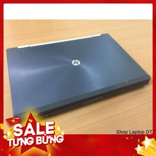 [SALE] Laptop cũ HP 8560w - Siêu Bền Bỉ - BH 1 Năm + KM - ổ cứng SSD xé gió - Bao chạy nhanh - Hình thức Like new 99%
