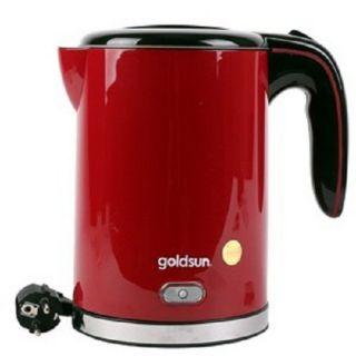 Ấm siêu tốc Goldsun 1.5L EK-GF15SPW màu trắng và đỏ