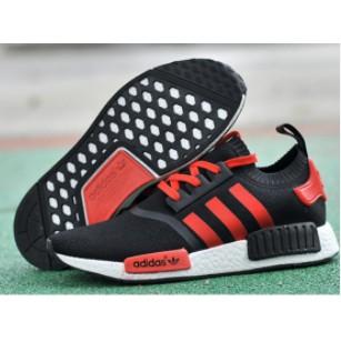Giày thể thao ADIDAS NMD RUNNER PK đen xọc đỏ