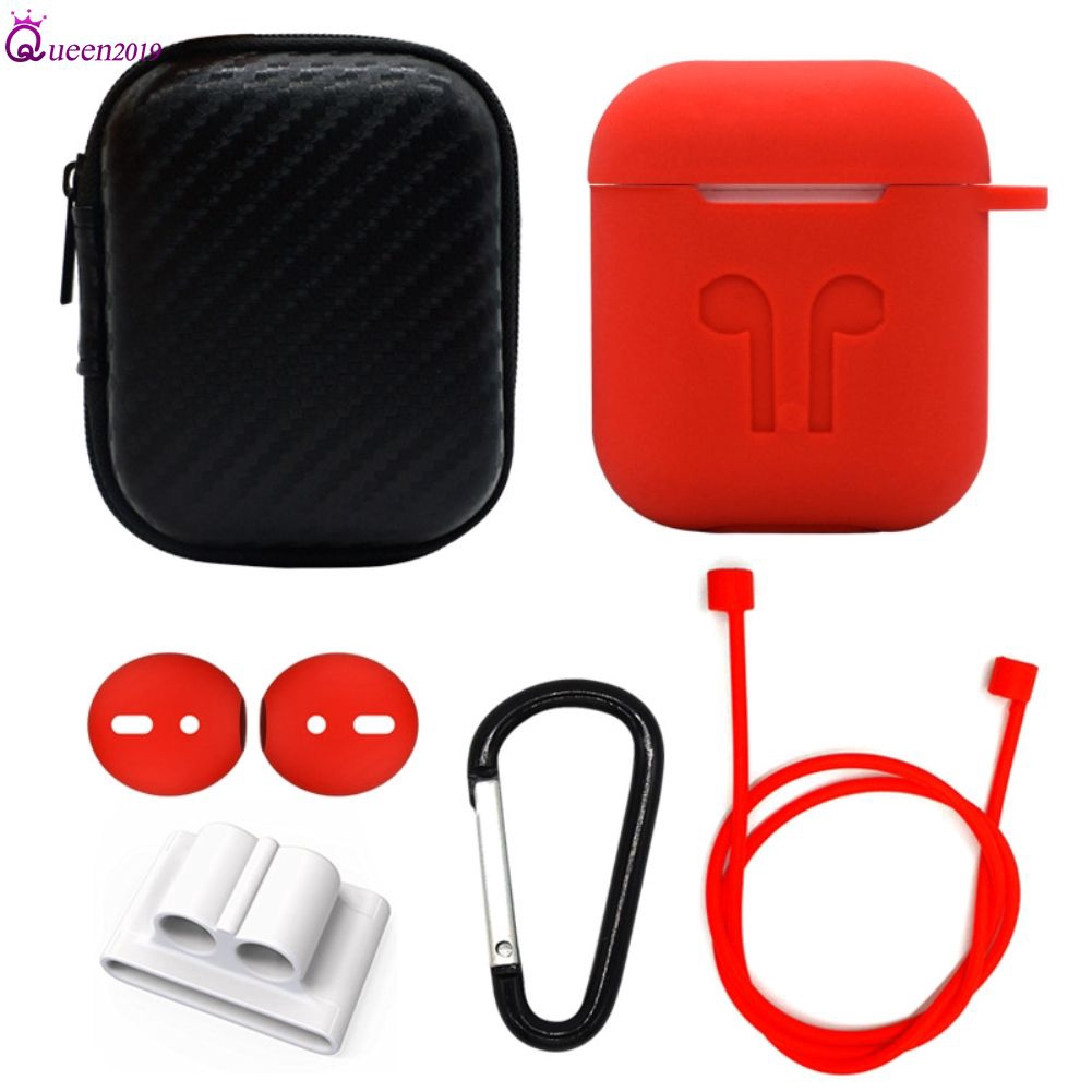 Set 6 hộp silicone đựng tai nghe Airpods tiện lợi - 14242284 , 2323808469 , 322_2323808469 , 92400 , Set-6-hop-silicone-dung-tai-nghe-Airpods-tien-loi-322_2323808469 , shopee.vn , Set 6 hộp silicone đựng tai nghe Airpods tiện lợi