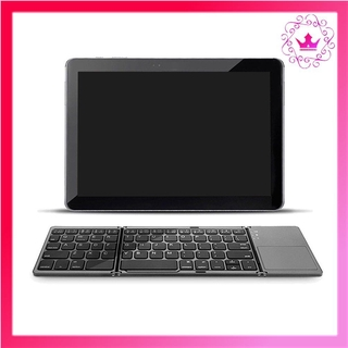 ⚛Folding Mini Keyboard With Touchpad Tablet Phone Computer Wireless Exquisite
