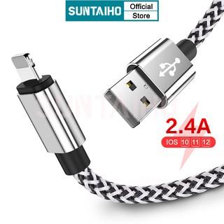 Dây Cáp Suntaiho Sạc Nhanh Và Truyền Dữ Liệu USB Cho IPHONE X XR XS 11 PRO MAX 6 S 6S 7 8 PLUS 5S SE