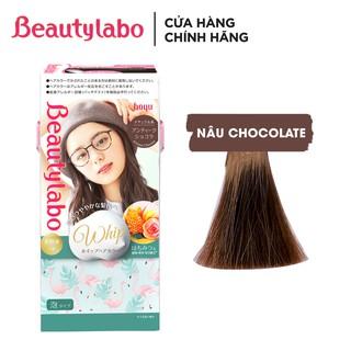 [Mã FMCGM10 hoàn 10% đơn 199k tối đa 30k xu] Thuốc nhuộm tóc tạo bọt Beautylabo 125ml Whip Hair Color Nhật Bản thumbnail