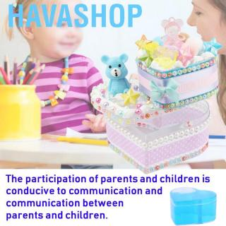 Havashop Child Kids Educational Toy DIY Manual Gift Storage Box Parent-Child Interactive