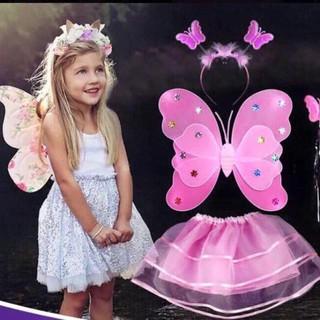 Combo 6 bộ cánh bướm có đèn cho bé Mã Sản Phẩm QY852